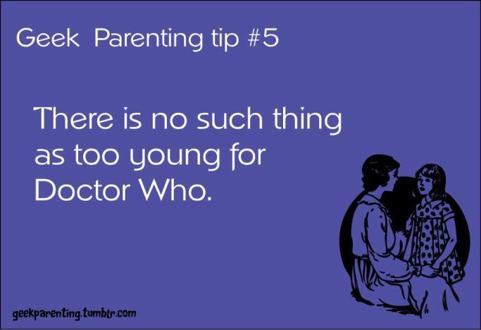 Geek Parenting Tip #5:
