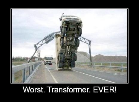 Worst Transformer Ever!