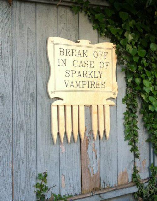 Vampires Should Not Sparkle!