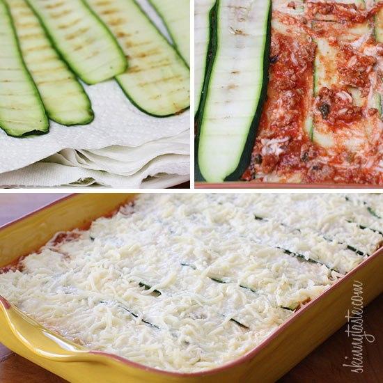 Gluten-Free Zucchini Lasagna!