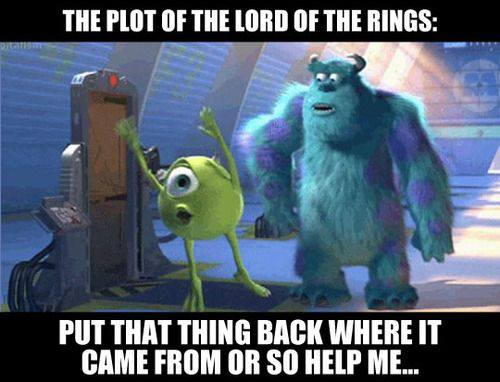 The Plot of Lord of the Rings