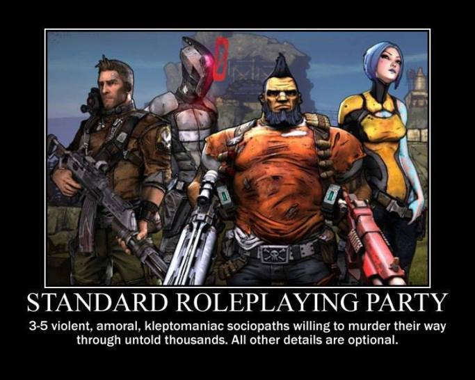 Standard Roleplaying Party