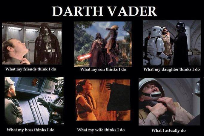 What Darth Vader Does