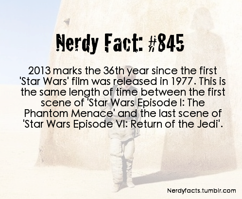 A Nerdy Fact for Star Wars Geeks