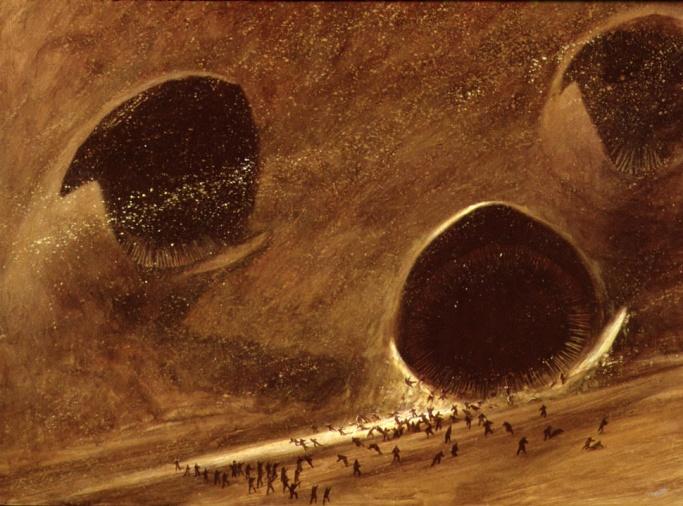 Rare Dune Art from Omni Magazine