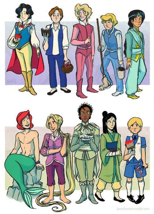 Disney Princes!