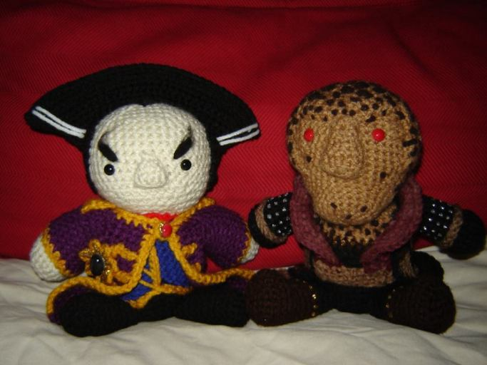 Babylon 5 Dolls!