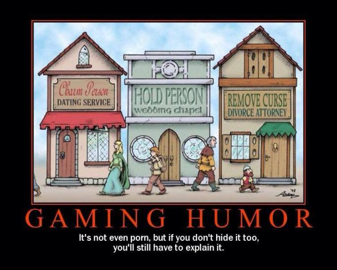 Gaming Humour