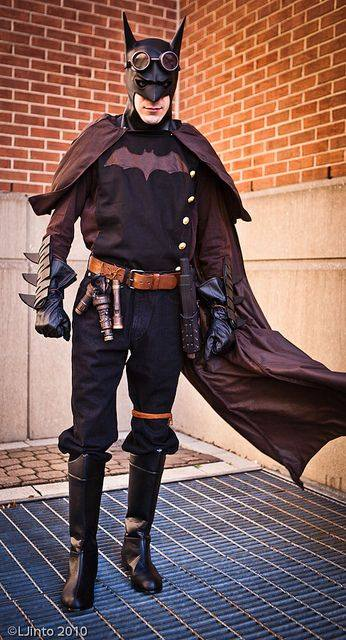 Steampunk Batman!
