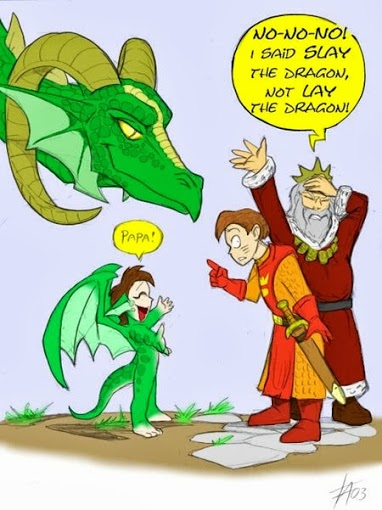 So This is Where Half-Dragons Come From . . .