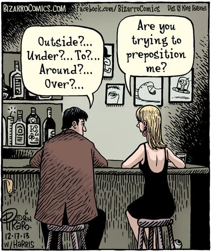 A Preposition?