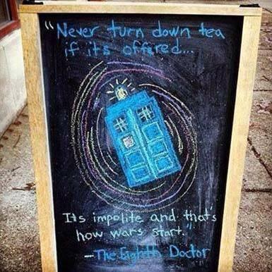 Never Turn Down Tea!