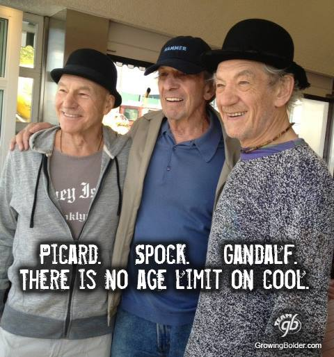 There is No Age Limit on Cool
