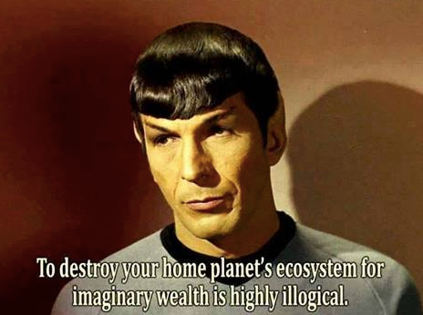 Spock Says it All