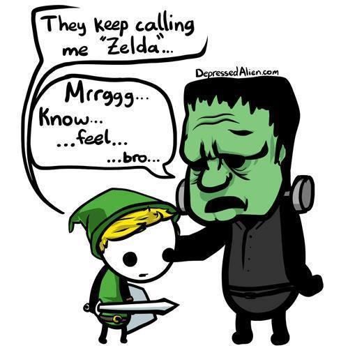They Keep Calling Me Zelda