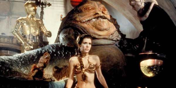 Carrie Fisher Admits Her Best Star Wars Moment Involves A Gold Bikini