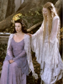 Arwen and Galadriel
