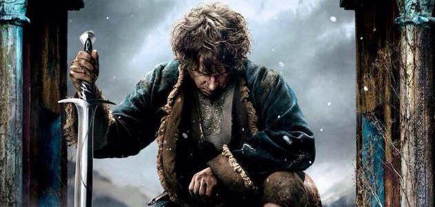 The Hobbit The Battle of the Five Armies (Official Poster) Header