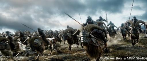 Dwarves (on rams)