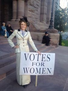 Dr Julia Oden, Suffragette, from Murdoch Mysteries