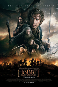 hobbit battle of 5 armies posters jackson