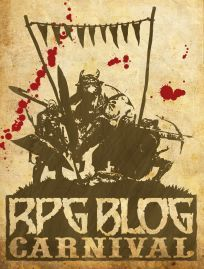 The Logo of the RPG Blog Carnival.